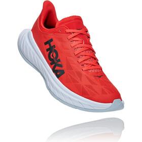 Hoka One One Carbon X 2 Shoes Men, czerwony